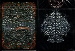 Victorian Obsidian Playing Cards Poker Size Deck Npcc Custom Limited Sealed New