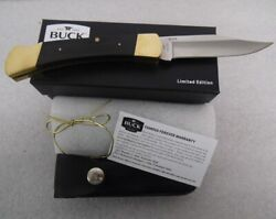 Buck Knife 110ebs The Federal 50th Anniv Remake 1st Version 110 2014 Single Line
