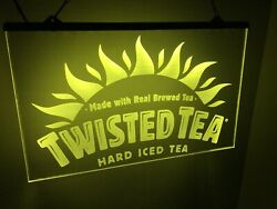 Twisted Tea Led Neon Light Sign Game Room Man Cave Your Color Choice