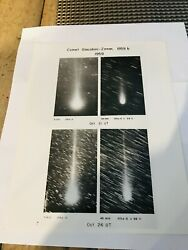 Vintage 1959 8 X 10 Photograph Comet Giacobini - Zinner Official Us Navy Picture