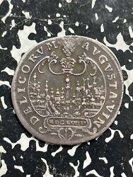 1628 Germany Augsburg 1/6 Thaler Lotjm2729 Silver Scarce City View