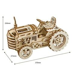 Diy Tractor 3d Wooden Mechanical Gear Drive Decor For Room Collections Gift
