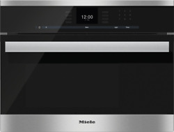 Miele DG6600 SensorTronic Series 24quot; Electric Wall Steam Oven Stainless Steel