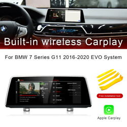 8-core Android 10 Car Gps Stereo Navi Wireless Carplay For Bmw 7 Series G11 2019