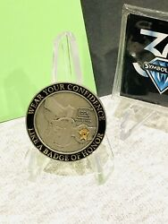 Glock Challenge Coin Andldquobadge Of Honorandrdquo Sgt R. Lee Ermeyandrsquos Quote G17 G19 G21 G22