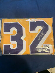 Magic Johnson Authentic Signed Jersey