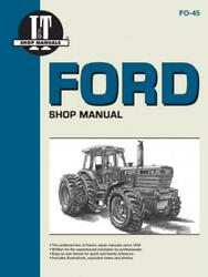 Ford Model Tw-5 Tw-15 Tw-25 And Tw-35 Tractor Service Repair Manual