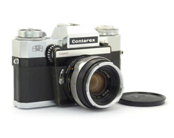 Zeiss Ikon Contarex Super 35mm Slr Camera With Planar 2/50mm