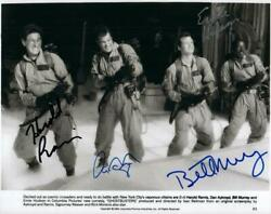 Dan Aykroyd Ramis Murray Hudson Signed 8x10 Photo Picture Autographed With Coa