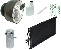 Ryc Remanufactured Complete Ac Compressor Kit Bc69 Eg937 With Condenser