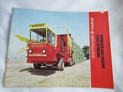 Sperry New Holland 1049 1048 1033 1034 1032 1010 Automatic Bale Wagon Brochure