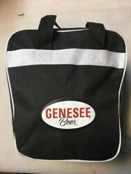 Rare Genesee Beer Bowling Ball Bag Collectable Rochester Brewery New Old Stock