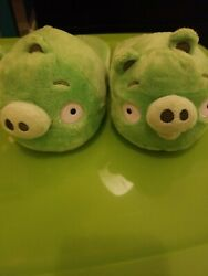 Angry Birds Pig House Slippers Shoes Size Kids 2-3