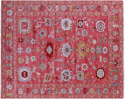 8and039 3 X 9and039 11 Turkish Oushak Hand Knotted Wool Rug - Q8770
