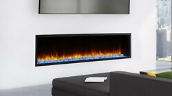 78 Simplifire Scion Linear Electric Fireplace With Multi Colored Led Lights