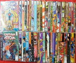 Captain Atom Complete Set 1-57  Pat Broderick Comes Bagged Dc 1987 Nice