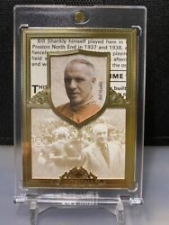Futera 2016 Liverpool Mythicals Gold Card Bill Shankly 5/7 Ssp Mint+ Psa Ready