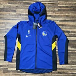 Nike Golden State Warriors Sweatshirt Hoodie Warm Up Player Issue Mens Large