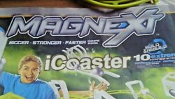 Magnext Icoaster 10 Magnetic Roller Coaster Building Set 29305 With Directions