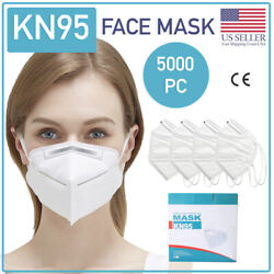 Kn95 Face Mask 5000 Piece Protective Respirator Covers Mouth And Nose