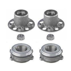 Moog Front And Rear Wheel Bearing And Hub Assembly Kit For Mercedes-benz W212 C207