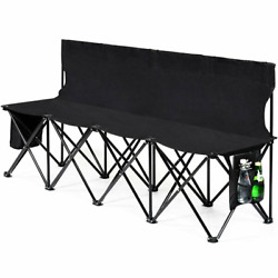 Amelia Folding Camping Bench Outdoor Party Seating