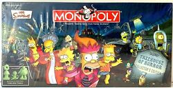The Simpsons Tree House Of Horror Board Game Monopoly New Sealed / Treehouse