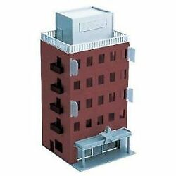Greenmax 2607 Business Building Brown Basic 5-story N Scale