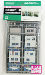 Greenmax 2592 Store Set B 3 Stores N Scale