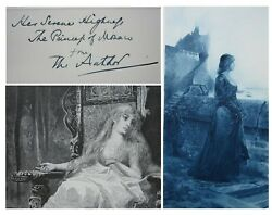 1886 The Viceroy Of India Author's Own Book Presented To The Princess Of Monaco