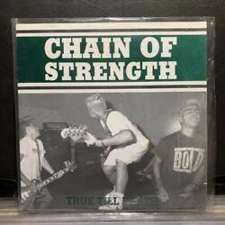Vintage Chain of Strength True Till Death 3rd Record Music Rare