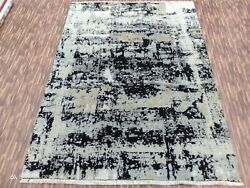 5and0396x8and039|6and0396x9and0396 Rug | Modern Luxury Hand Knotted Rug Wool And Viscose Multi Color