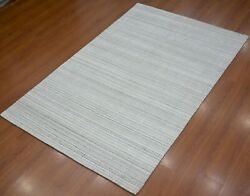 Handmade Hand Woven Knotted Soft Viscose Stain-proof Carpet Area Rug
