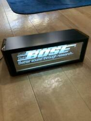 Bose Store Light Display Merch Size 34.5x12.5cm From Japan Free Shipping