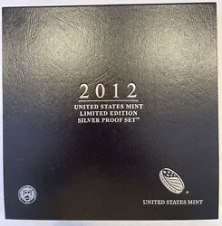 2012 United States Mint Limited Edition 8 Coin Silver Proof Set As