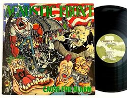 Agnostic Front quot;Cause For Alarmquot; Punk Hardcore LP Combat Core Camouflage Label