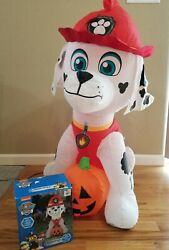 New Open Box Nickelodeon Paw Patrol Marshall 3ft Airblown Inflatable