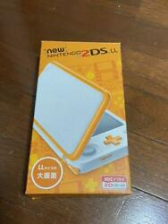 Nintendo 2ds Ll White X Orange Handheld System Video Game Consoles From Japan
