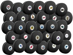 Nhl Autograph Souvenir Collector Hockey Pucks By Inglasco - All Teams Available
