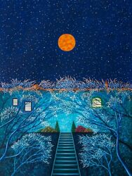 For Matthew, Spring Moon, Limited Edition Pigment Print, Scott Kahn - Signed