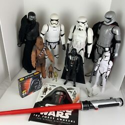 Star Wars Collection Lot / 13 - Storm Troopers Kyle Ren Chewbacca Darth Vadar
