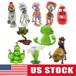 Plants Vs Zombies 2 Egypt Private Wild West Gift 10 Pcs Action Figures Kids Toy