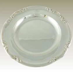 Antique French Sterling Silver Tray Platter Serving Plate Odiot Paris Late 19c