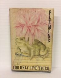 You Only Live Twice Ian Fleming First Edition 1964 Cape Rare James Bond 007 Book