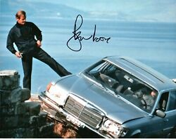 Roger Moore Autograph 10 By 8 Inches Genuine Signed Photo Spy Who Loved Me Coa