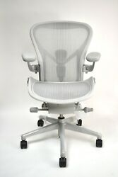 Herman Miller Remastered Aeron Mineral Size Aband C Prices Differ For Sizes