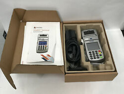 First Data Fd400ti Wireless Credit Card Reader Terminal W/cables And Box