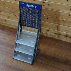 Sony Battery Store Display Storage Merchandise From Japan Free Shipping