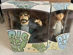 Jay And Silent Bob Big Ass Figure Set - Graphitti Designs - Signed - Kevin Smith