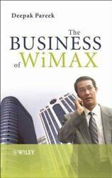 Business Of Wimax, Hardcover By Pareek, Deepak, Brand New, Free Shipping In T...